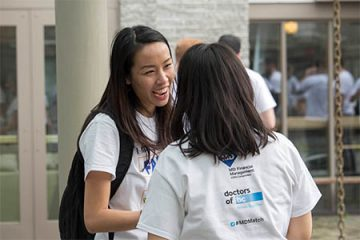 UBC medical students celebrate their first step on the path to residency