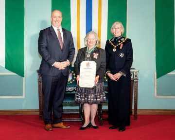 Elaine Carty appointed to the Order of British Columbia