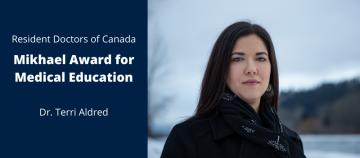 Award News: Dr. Terri Aldred